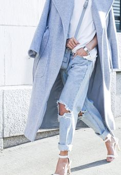 perfectly ripped #jeans #style