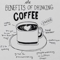 The Benefits of Drinking #Coffee