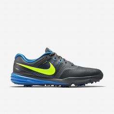 4c21f9a7d07d Nike Lunar Command Mens US 11 EUR 45 Golf Shoe Dark Grey Photo Blue Volt