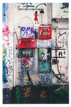 #Graffiti vind je veel in artistiek #Berlijn http://travelbird.nl/stedentrip/berlijn/ #TravelBird