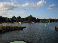 Going to Tammio, Finland