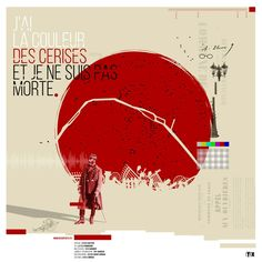 """""""J'ai la couleur des cerises mais je ne suis pas morte"""". Spectacle sur la Commune de Paris 1871 par la Compagnie """"Ohzartsetc""""."""
