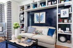 76 Main - beach style - living room - Rachel Reider Interiors