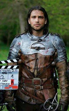 Luke Pasqualino as Dartagnan in The Musketeers season 3