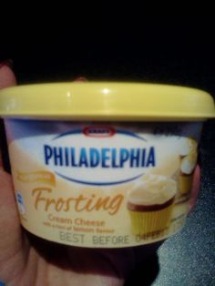 Ok I bought this and tried it out of sheer curiosity, and guess what - it is the most delicious cream cheese frosting ever, I found myself eating it out of the tub! Tastes like the frosting you get on expensive carrot cakes at cafes...what a fantastic product, so easy to use on cakes & cupcakes.