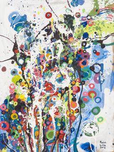 carneval of colours oil painting by lilla kuizs Modern Art, Contemporary Art, Collage Art Mixed Media, Illustrator Tutorials, Love Art, Saatchi Art, Art Photography, Abstract Art, Art Gallery