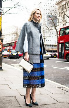 22 Fall Outfit Ideas Built Around Our Favourite Skirts via @WhoWhatWearUK