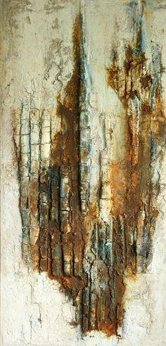 Mischtechnik auf Leinwand 30x60x4 cm Ostsee-Galerie Timmendorfer Strand -verkauft-