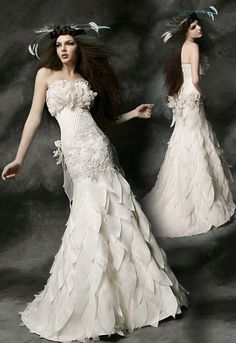 Couture Wedding Dresses ★ See more: https://weddingdressesguide.com/couture-wedding-dresses/ #nails