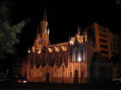 (IMAGENES RELIGIOSAS) COLOMBIA > CALI - IGLESIA DE LA ERMITA CALI   ... el palacio municipal de Cali Colombia estilo de la ermita cali