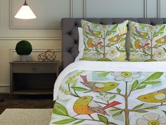 saw this on FB from Joss and Main, Cori Dantini bedding.  so cute.