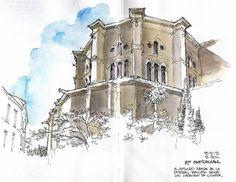 Málaga, apse of the cathedral by Luis Ruiz Padrón