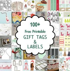 free printable holiday address labels by erin rippy of inktreepress