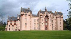 Scotland's pink castle, Fyvie Castle is in the village of Fyvie, near Turriff in Aberdeenshire, Scotland.