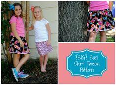 INSTANT Download PDF SIG Susi Skirt Pattern eBook by scbyastrid, $7.00