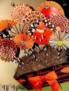 Halloween Paper Crafts, Fete Halloween, Halloween Signs, Holidays Halloween, Spooky Halloween, Fall Crafts, Holiday Crafts, Holiday Fun, Happy Halloween