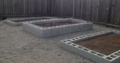 How to Build a Cinder Block Raised Garden Bed Black Friday Sale! Close Top BannerDIY's, Printables, and FUN for your everyday life!How to Build a Cinder Block Raised Garden BedLast year Raised Garden Beds Cinder Blocks, Cheap Raised Garden Beds, Cinder Block Garden, Raised Bed Garden Design, Diy Garden Bed, Building Raised Garden Beds, Raised Gardens, Raised Beds, Indoor Garden