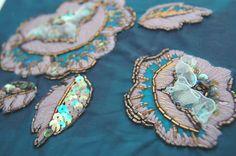 Haute couture embroidery. Fashion embroidery school in Rome, visit our web site: www.scuoladiricamoaltamoda.it Scuola di ricamo Alta moda a Roma. Info: 1039-3297075845, 1039-0697273939
