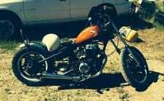 Honda cb450sc  Chop'd it!