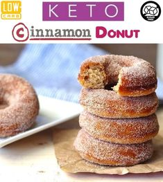 Description: Keto Donuts – the perfect low carb donuts to curb that classic cinnamon sugar donut craving. Best of all, this easy recipe comes together quickly for a healthy breakfast treat. Paleo, sugar-free, grain-free and gluten-free. Paleo Donut, Low Carb Donut, Keto Donuts, Gluten Free Donuts, Mini Doughnuts, Sugar Free Donuts, Cinnamon Sugar Donuts, Low Carb Desserts, Low Carb Recipes