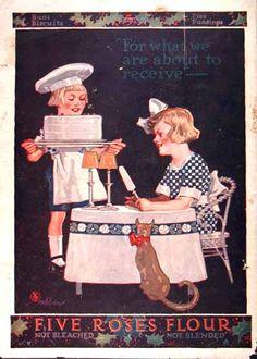 1914 Five Roses Flour
