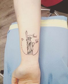 New York tattoo