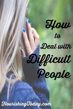 Do you have a difficult relationship in your life? Wondering how to deal with them? Join me as we search the Bible for answers on how to handle those that are less than pleasant to deal with.