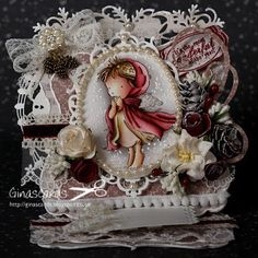 Card Challenge at the Ribbon Girl - A Little Prayer