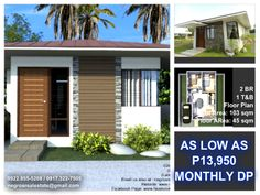 The Newest Japanese Themed subdivision is now opened for reservations! Bacolod City, Site Visit, My Dream Home, Bungalow, Floor Plans, Real Estate, Houses, Outdoor Decor, Schedule