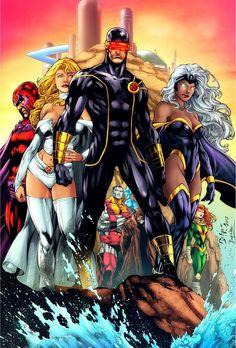 X-Men Utopia pencils by Ed Benes inks by Fredson Moura colors by Diabolumberto. Comic Book Characters, Comic Book Heroes, Comic Book Artists, Marvel Characters, Comic Character, Comic Books Art, Comic Art, X Men, Arte Dc Comics