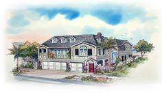 Balboa | Brion Jeannette Architecture | Newport Beach California | Energy Conscious Design