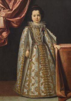 Lorenzo Lippi. Vittoria della Rovere (1622-1694) im Alter von vier bis fünf Jahren, um 1626-1628