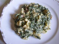 Recept: Baby špenát se sýrem a Quiche, Risotto, Breakfast, Ethnic Recipes, Food, Morning Coffee, Essen, Quiches, Meals