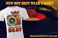Sweet Reggae Beat  New Hot Shot Wear design http://shop.hotshotwear.net/products_new.php