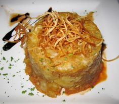 A recipe for Mofongo from Metropol in Puerto Rico