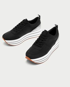 finest selection 5624d 81b55 PLATFORM SNEAKERS-View all-SHOES-WOMAN   ZARA United Kingdom Zapatos  Deportivos Mujer