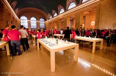 Apple reportedly to revamp its stores to make room for more products. #technews #applestores