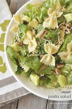 Caesar Pasta Salad - your homebased mom