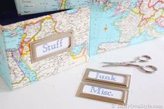 IHeart Organizing: DIY Decorative Storage Box Ideas