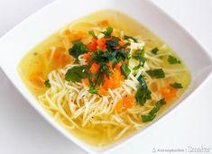 Rosół według przepisu prababci Polish Food, Polish Recipes, Spaghetti, Eat, Ethnic Recipes, Kitchen, Christmas, Xmas, Cooking