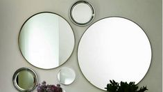 How To Decorate Walls with Groups Of Mirrors