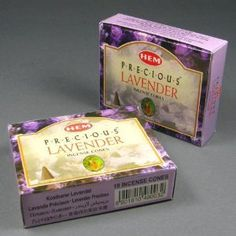 HEM Precious Lavender Incense Dhoop Cones Pair of 10 Cone Boxes ** Read more  at the image link.