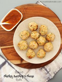 These Baked Chicken Zucchini and Cheese Balls make a great snack or easy meal for the whole family! They are freezer friendly and you can also enjoy them both hot or cold - perfect for lunch boxes! Both regular and Thermomix instructions included. Lunch Box Recipes, Baby Food Recipes, Chicken Recipes, Cooking Recipes, Lunchbox Ideas, Wrap Recipes, Cake Recipes, Dinner Recipes, Chicken Zucchini