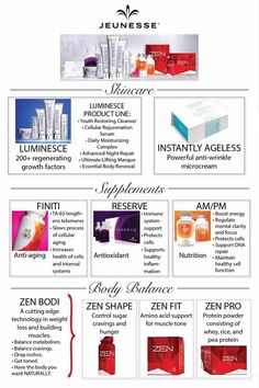 Jeunesse Products - A Full Youth Enhancement System!  #StemCells #Antioxidants #AntiAging #JeunesseLife,  www.kellylocker.jeunesseglobal.com