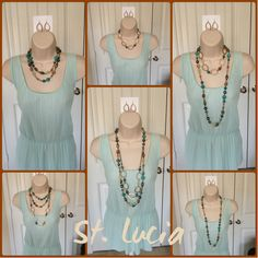 St. Lucia necklace Premier Designs! Stunning Beauty! View this and more jewelry on my website: leslielaster.mypremierdesigns.com Catalog Access Code: LOVE (all caps) If you would like to order call me or email. The contact info is posted on my website.