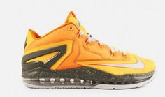 premium selection 1421b ec51c Just in time for summer league, the new Nike Lebron 11 Low (Atom Mango