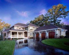 Love that wrap around porch! #homes #homeexteriors homechanneltv.com
