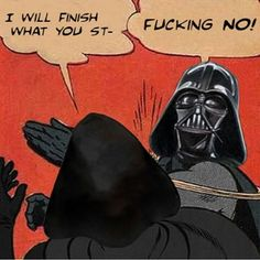 kylo ren is so dumb compared to u Starwars, Anakin Vader, Darth Vader, Anakin Skywalker, Tableau Star Wars, Star Wars Dark, Rage, Finn Poe, Star Wars Meme