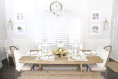 Dining Room via The