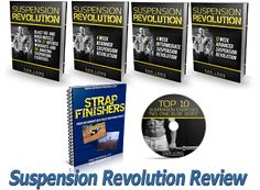 Suspension Revolution - How To Get Ripped Abs With 191 Amazing Never-seen-before Suspension Exercises As Suspension Training Expert Dan Long Personally Coaches You Through Over 2,000 Fat-burning Reps And 20 Weeks Of New High-energy Suspension Revolution Workout Videos  - http://ehowsuperstore.com/suspension-revolution/